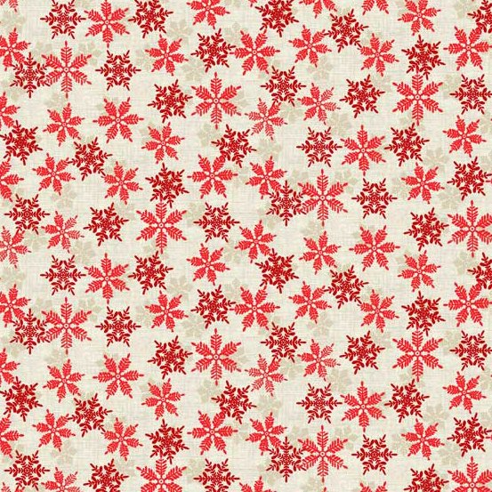 Snowflakes Red