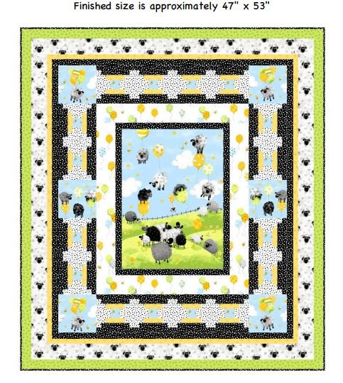 Up Up and Away Quilt Kit