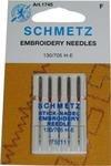 SCHMETZ Machine Embroidery Needle 11/75 5pk