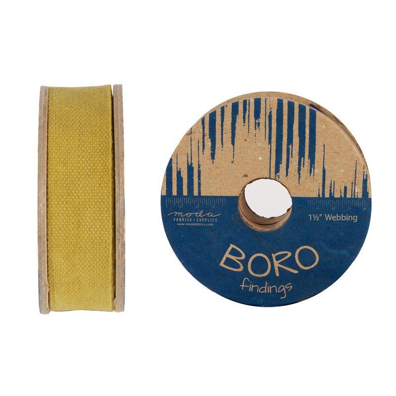 Boro Trim Webbing 1.5 Flax