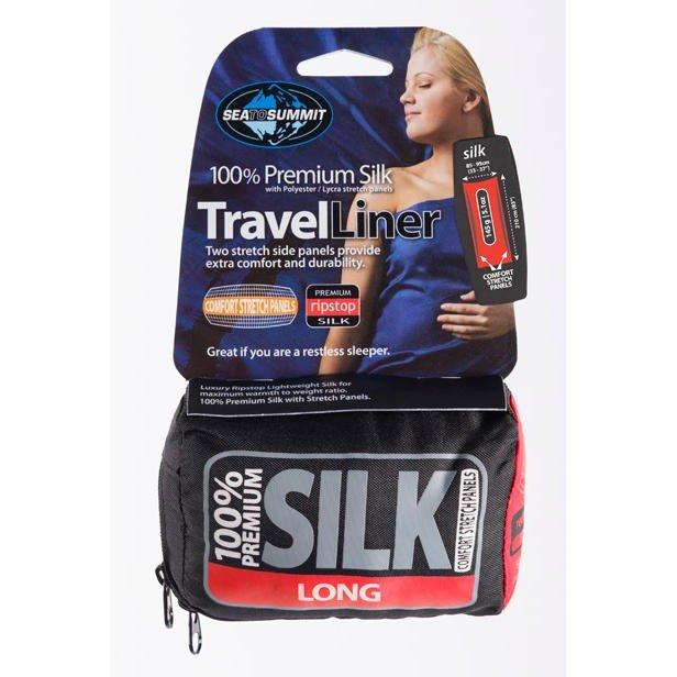 Premium Silk Travel Liner - Long