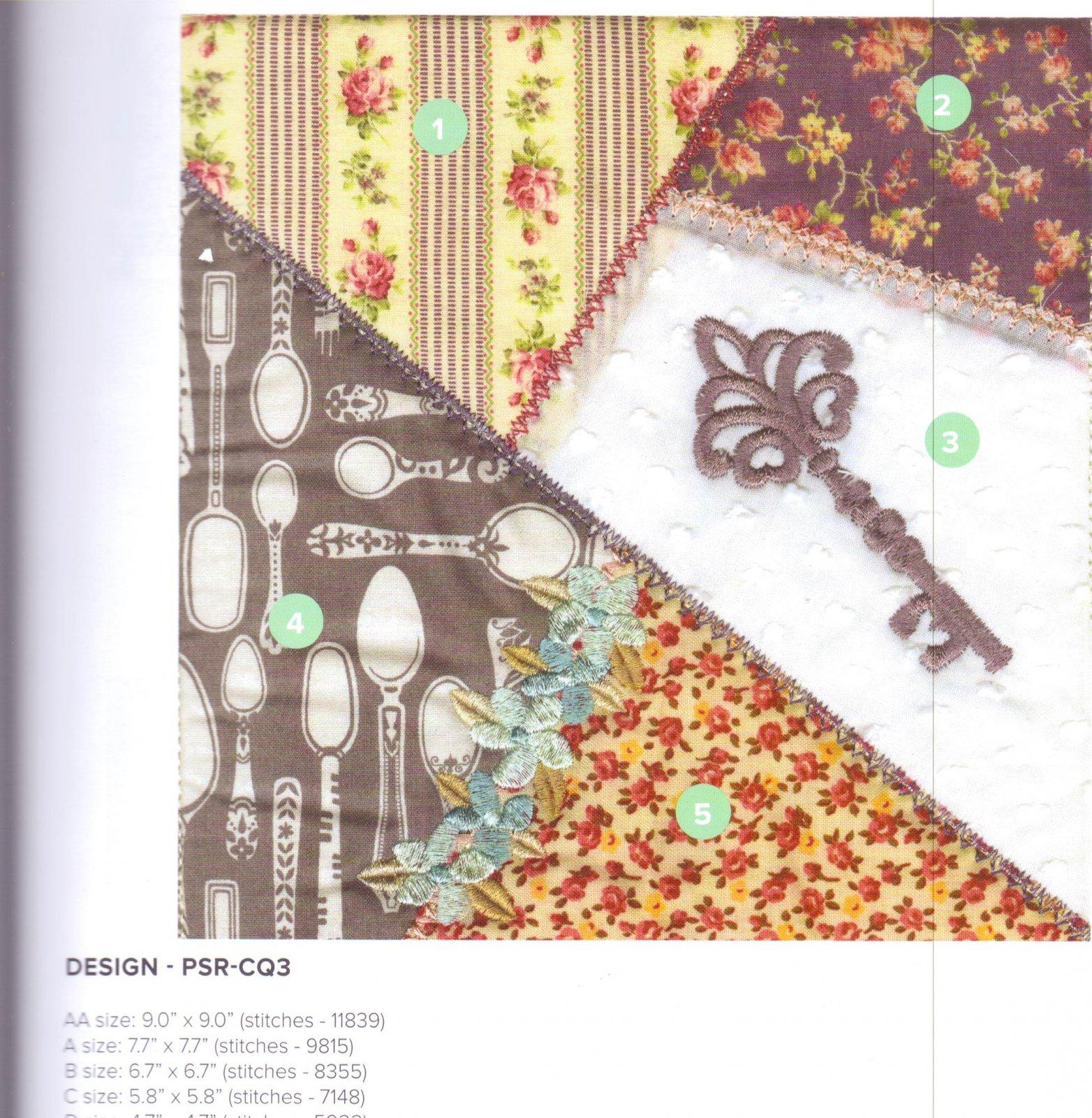 Crazy Quilt Blocks From Anita Goodesign
