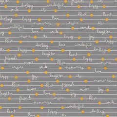 Adornit Happy Notes Gray 00632