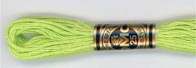 DMC Six Strand Floss Light Chartreuse - 16