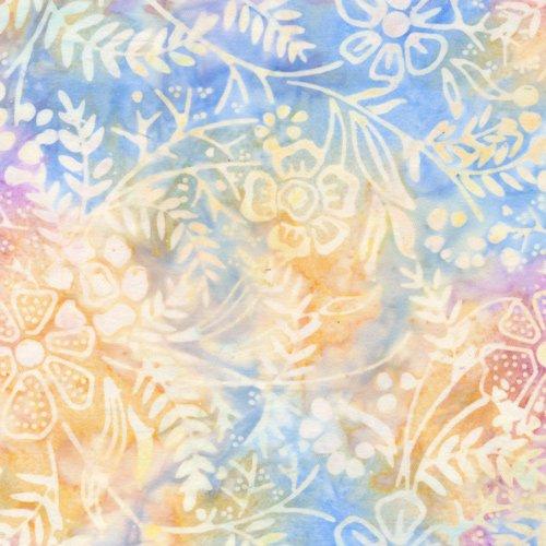 Batik Floral Purple/Blue