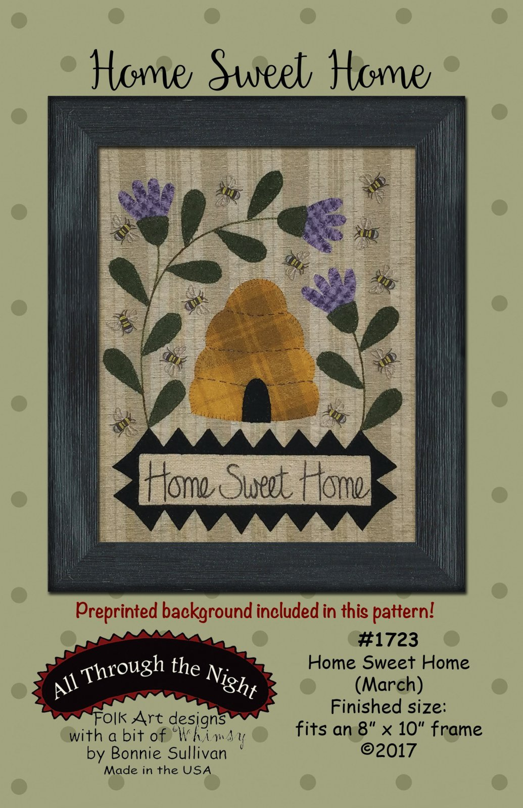Home Sweet Home (March) Pattern and Wool