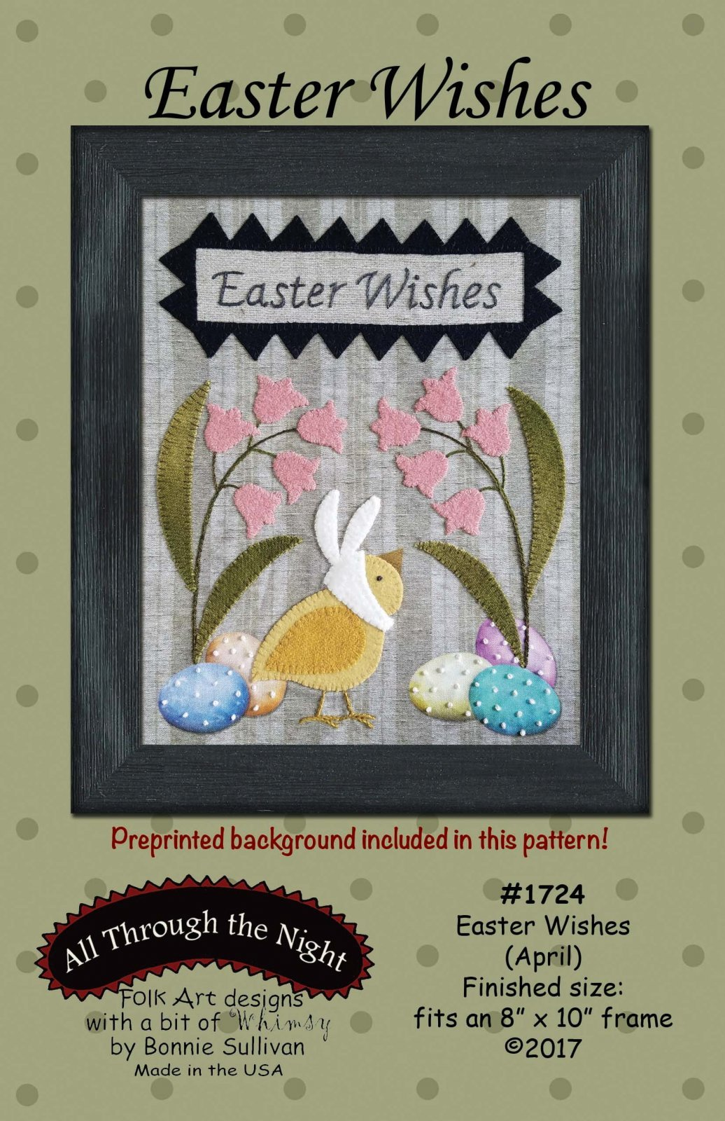 Easter Wishes (April) Pattern Only