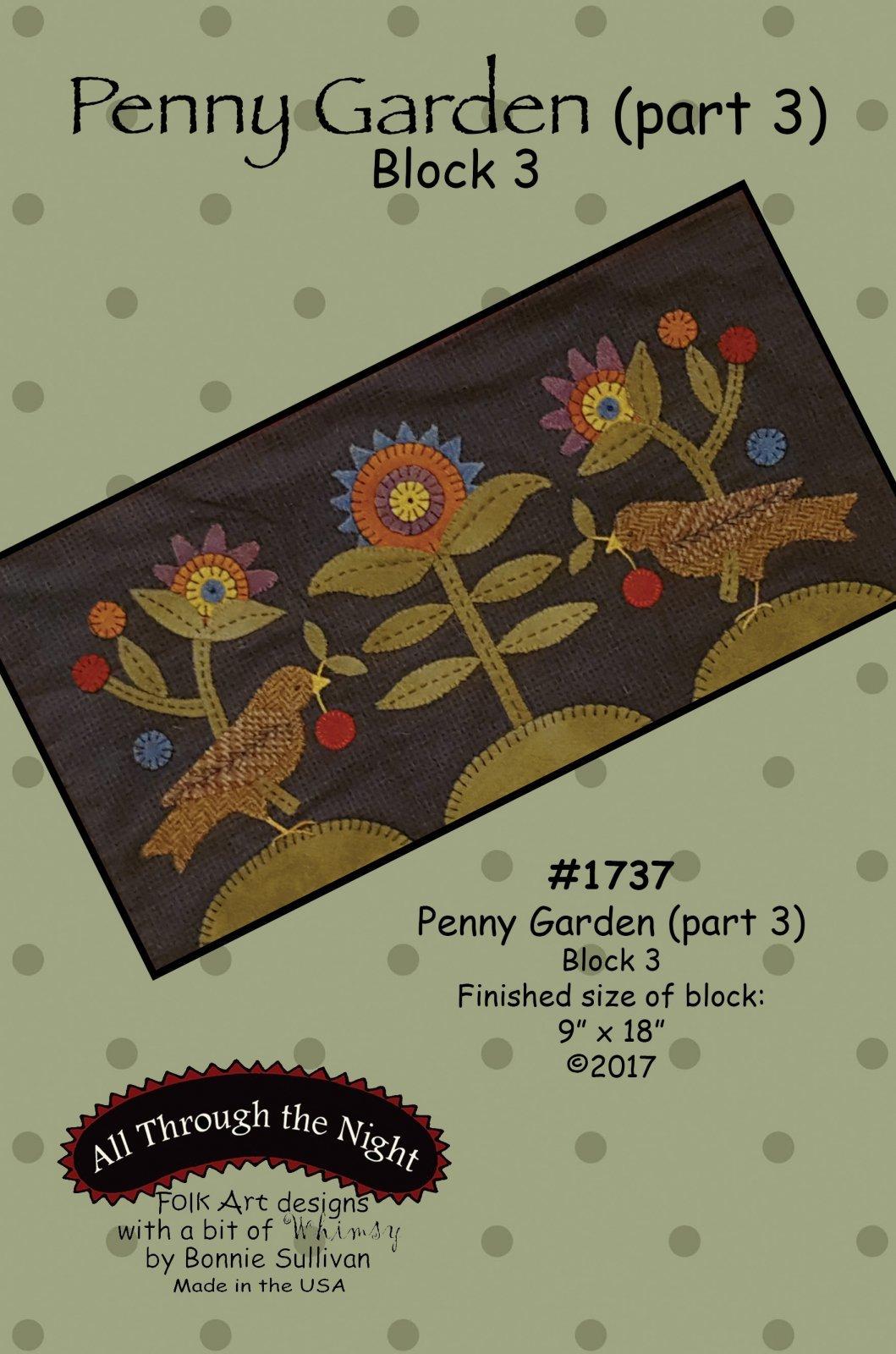 All Through The Night ATN1804 Winter Friends Banner Pattern