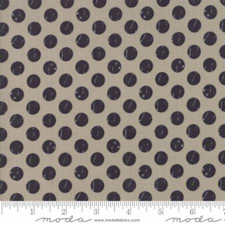 Moda Farmers Daughter Taupe Shabby Dots