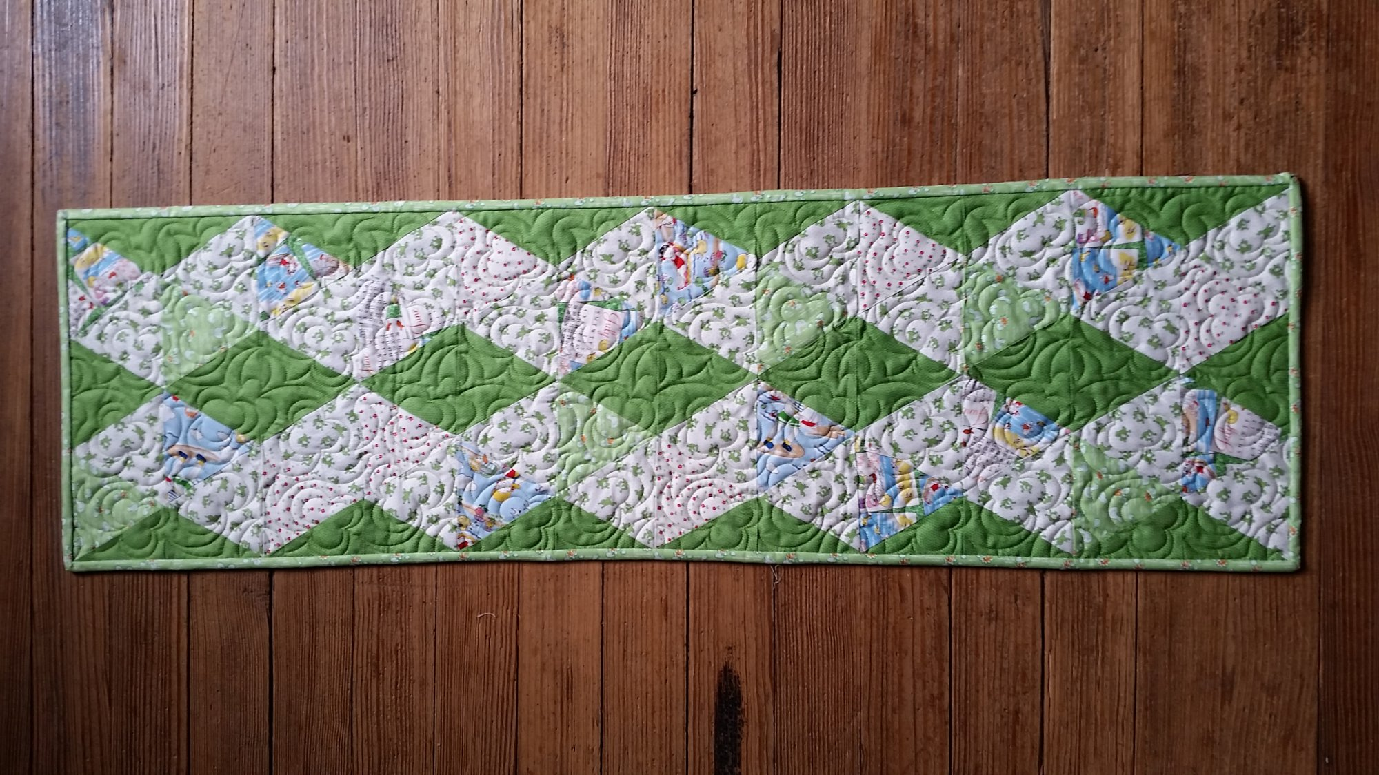 Leap into Conrad Table Runner Kit