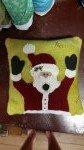 December Jolly Santa woolie kit