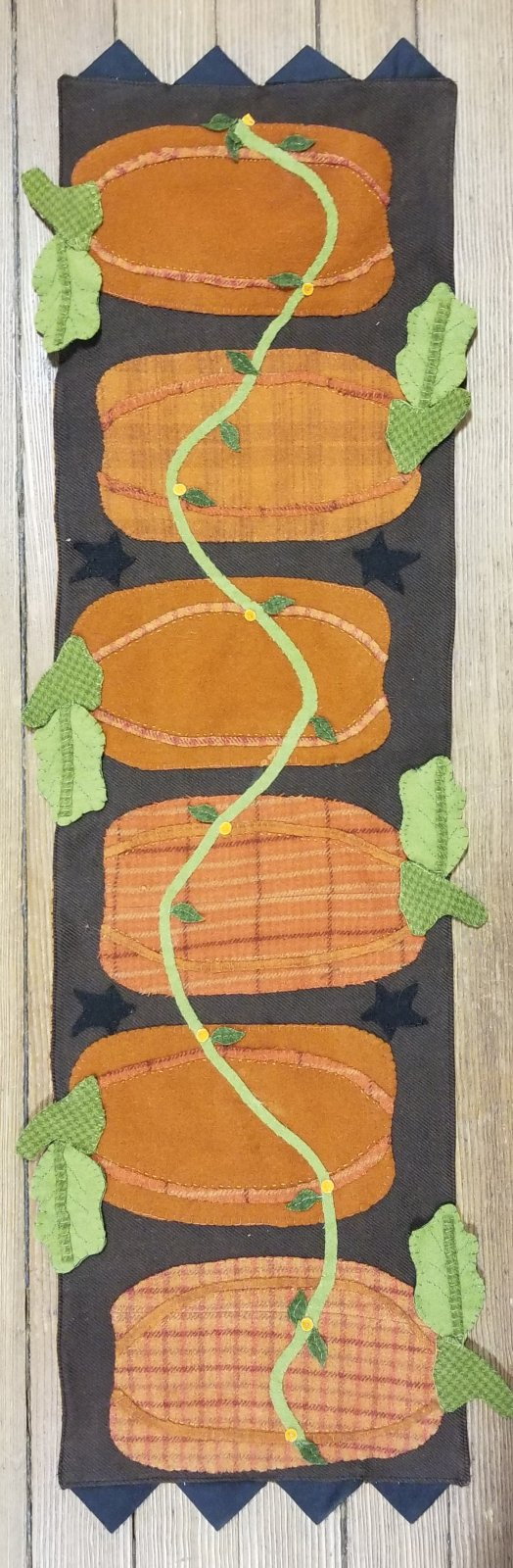 Pumpkin Harvest Fabric Kit