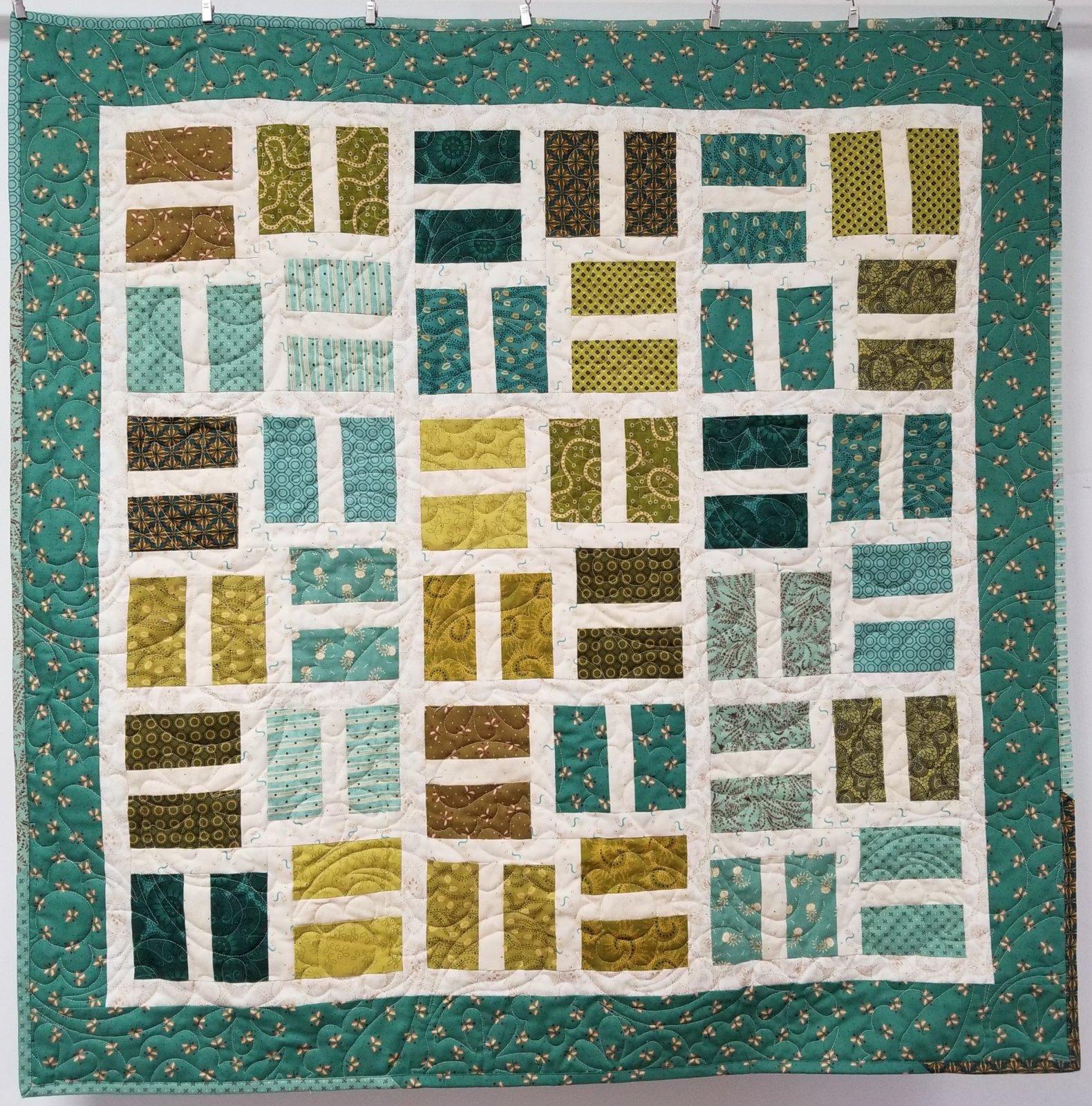 Sage & Sea Glass To-A-Tee Fabric Kit