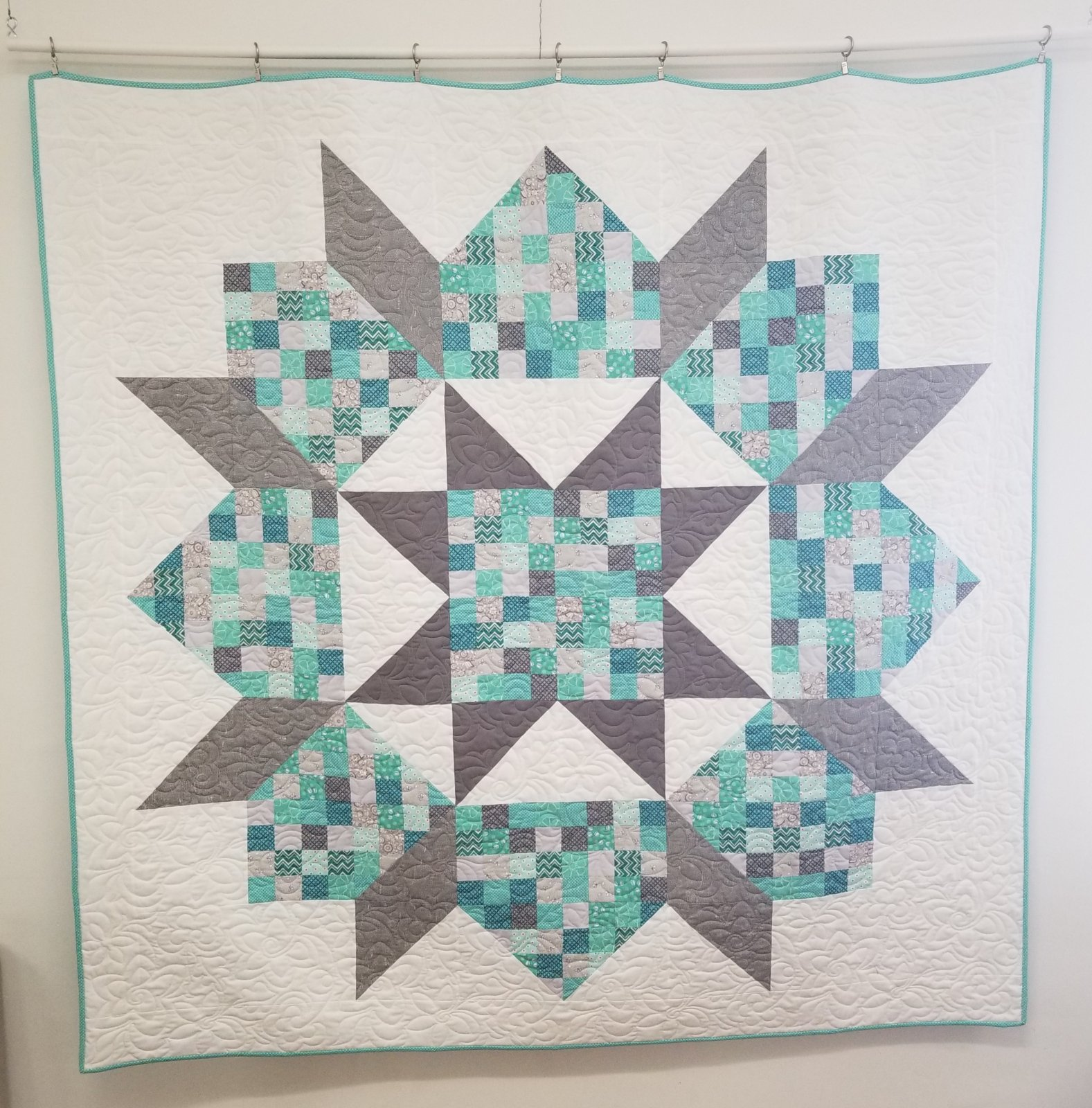 Patchwork Swoon Finished Quilt