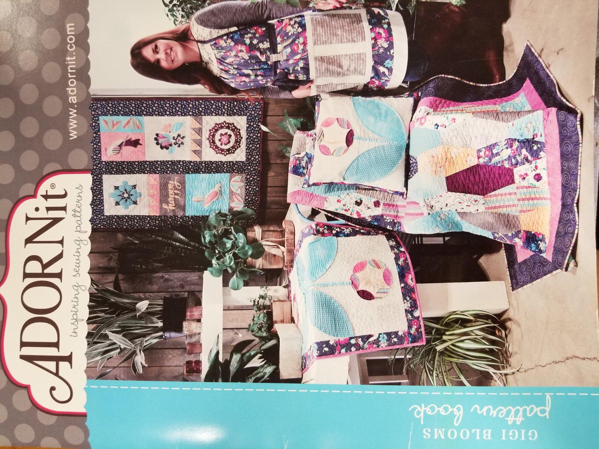 Adornit Gigi Blooms Pattern Book