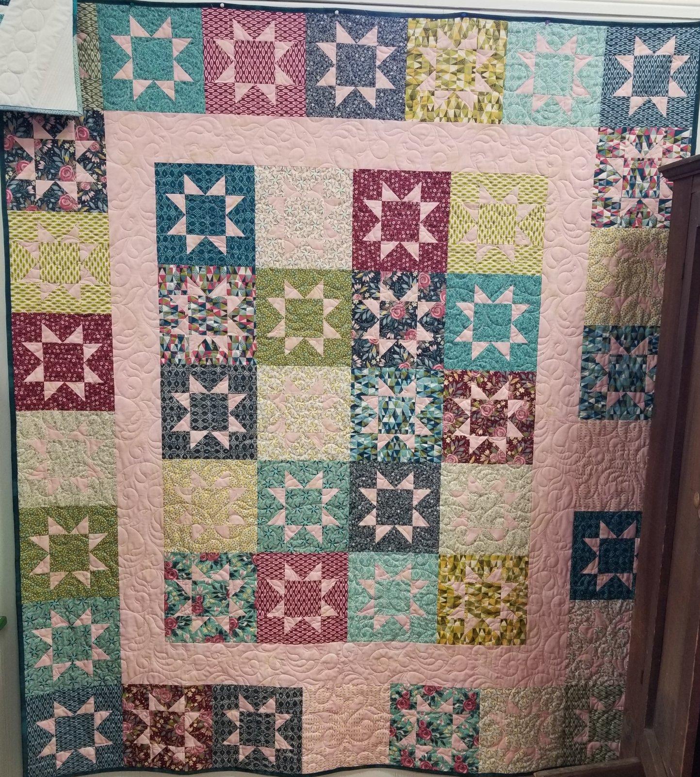 Stash Stars Fabric Kit