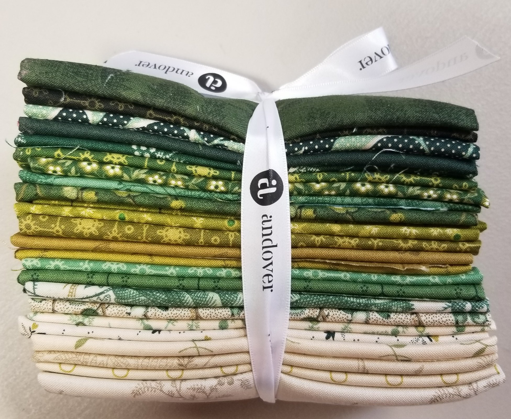 F8 bundle of Evergreen by Laundry Basket Quilts