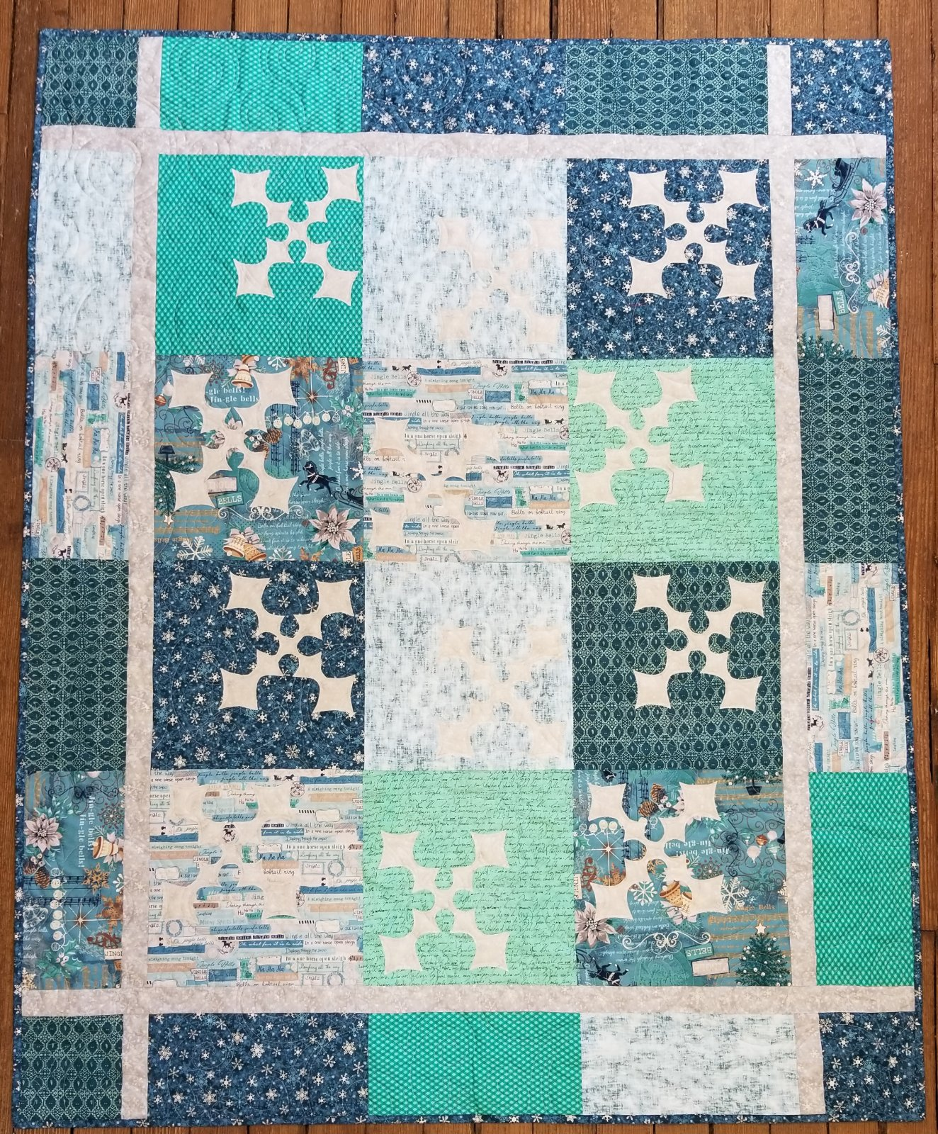 Winter Warm-up Fabric Kit
