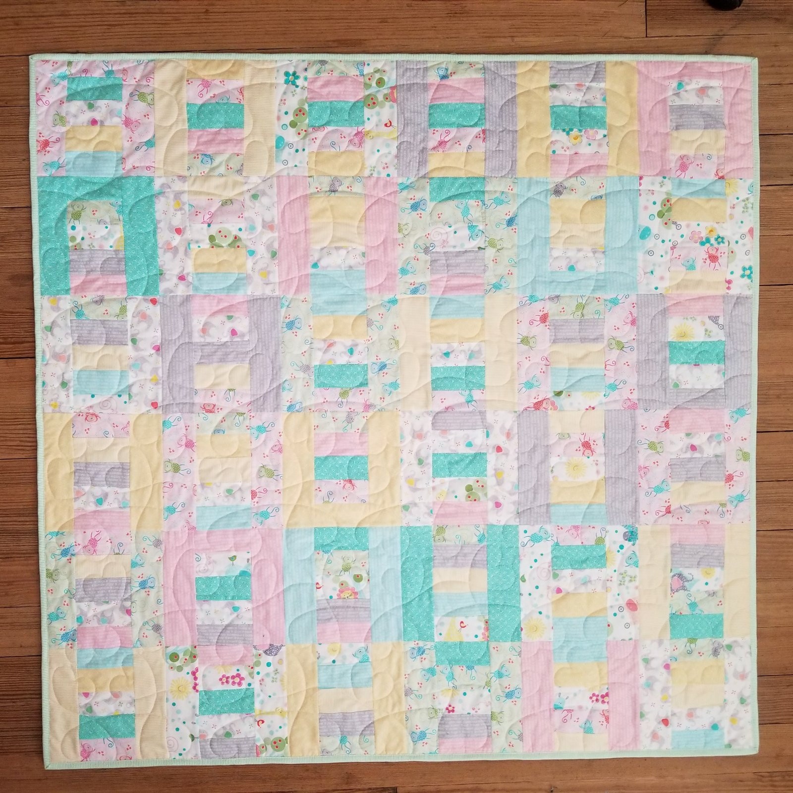 Baby Layered Ladders Quilt Kit