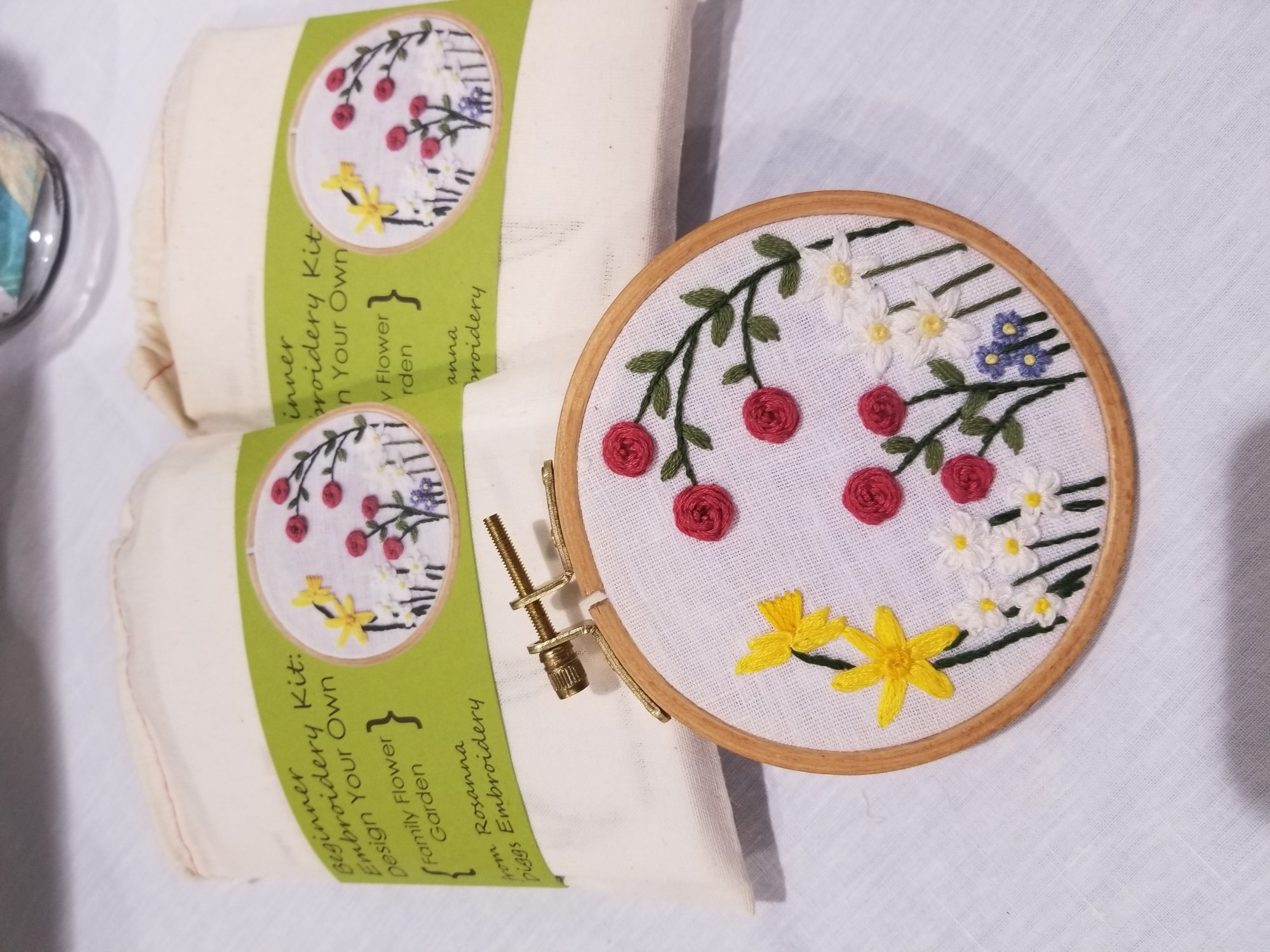 Rosanna Diggs Embroidery: Family Flower Garden