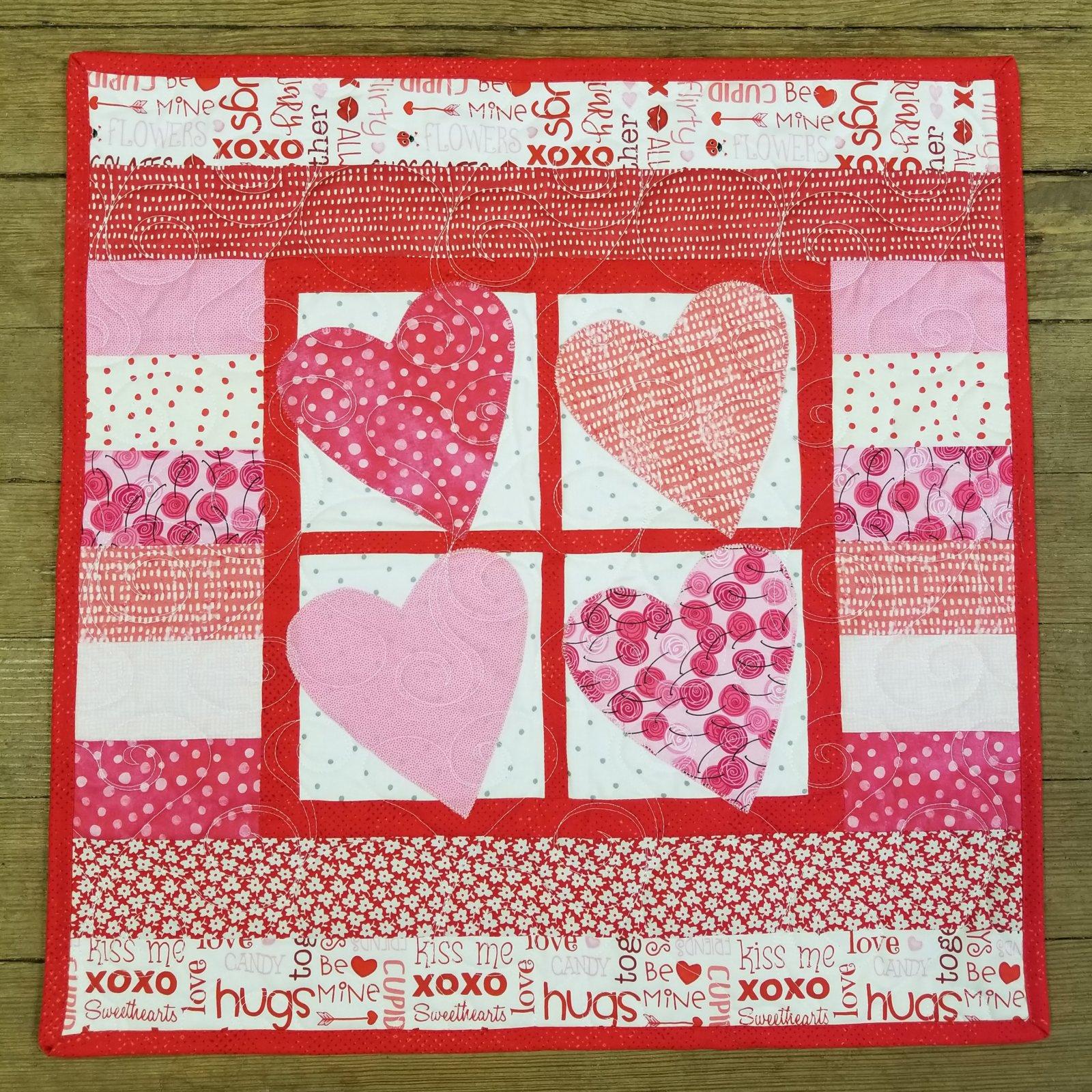 Hearts 4 U Quilt Kit