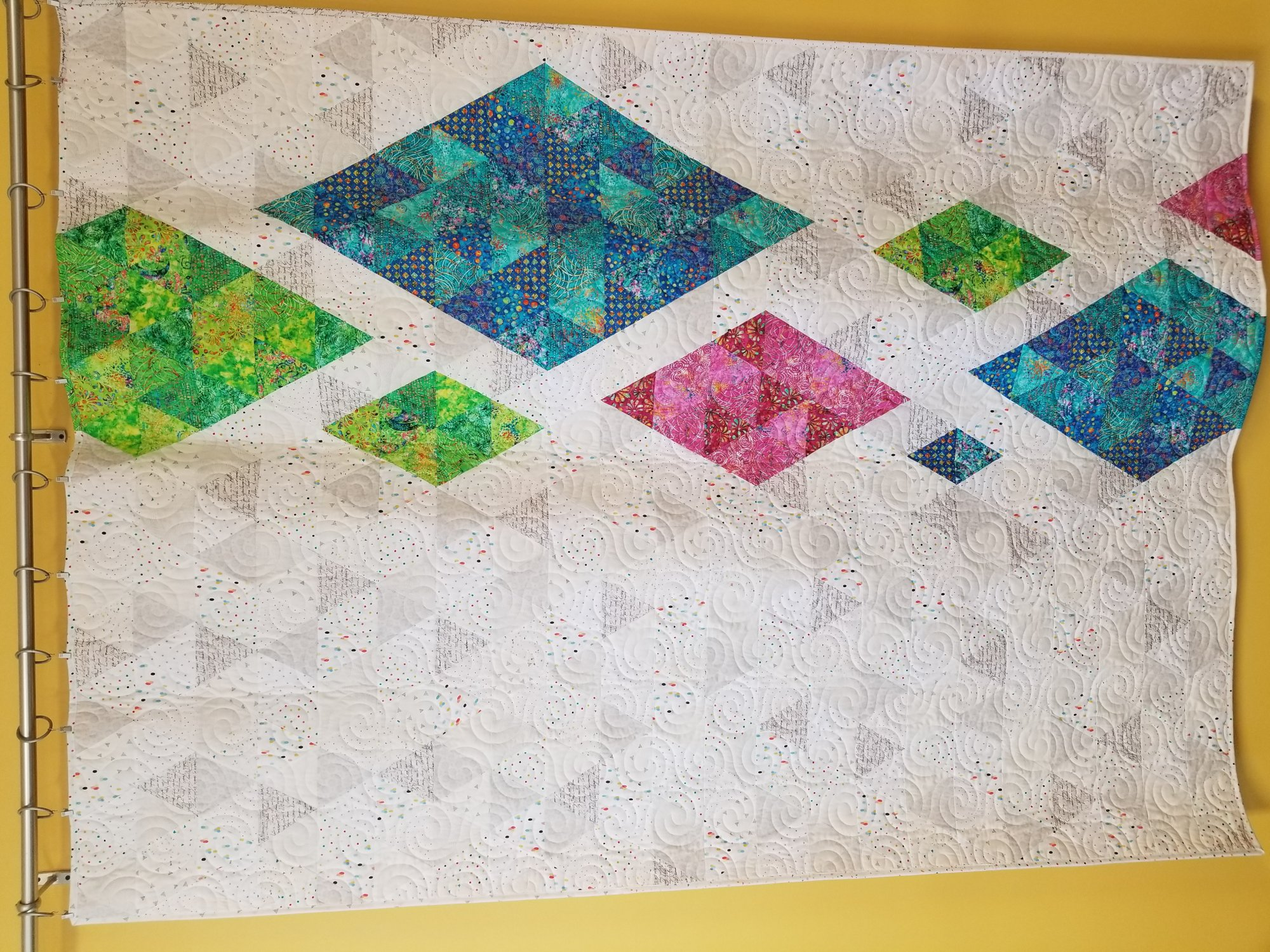 Diamonds in the Rough Radiance Quilt Kit