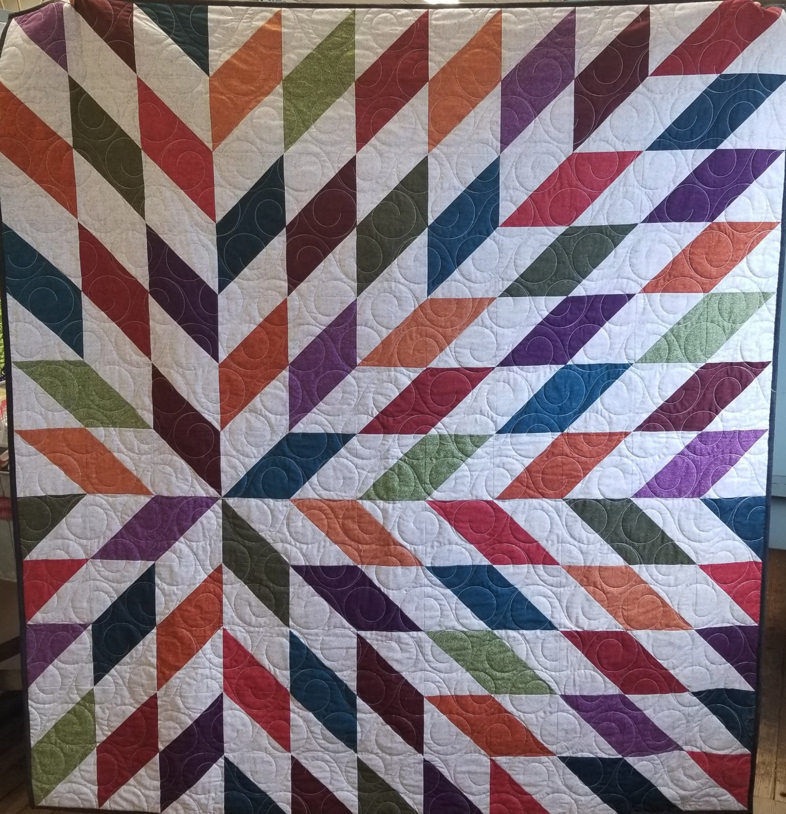 Winter Wool Solar Flare Quilt Kit