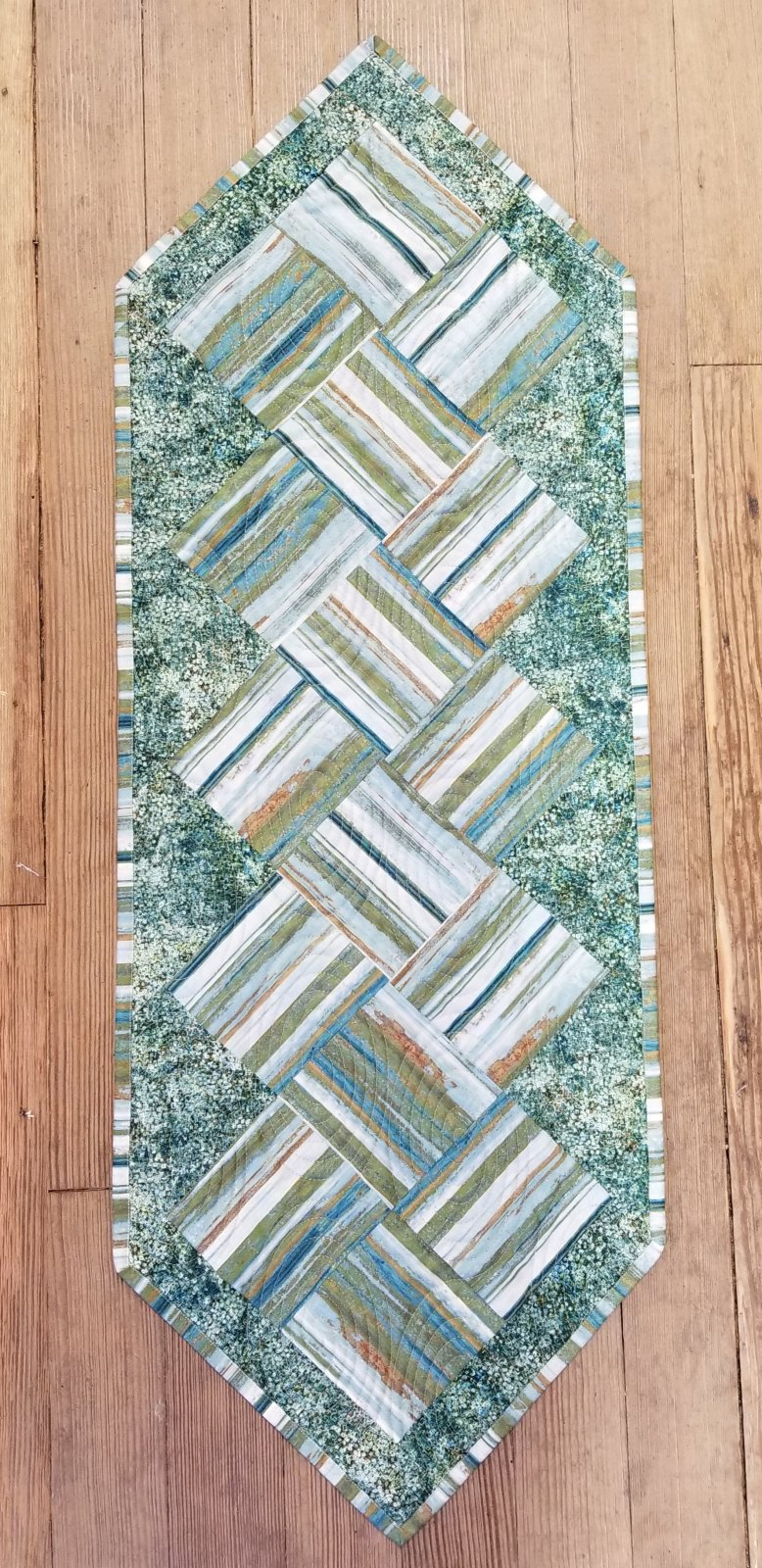 Fast Food Reflections Fabric Quilt Kit