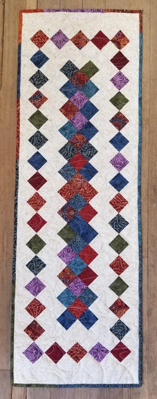 Criss Cross Applesauce Tapestry Table Runner fabric Kit