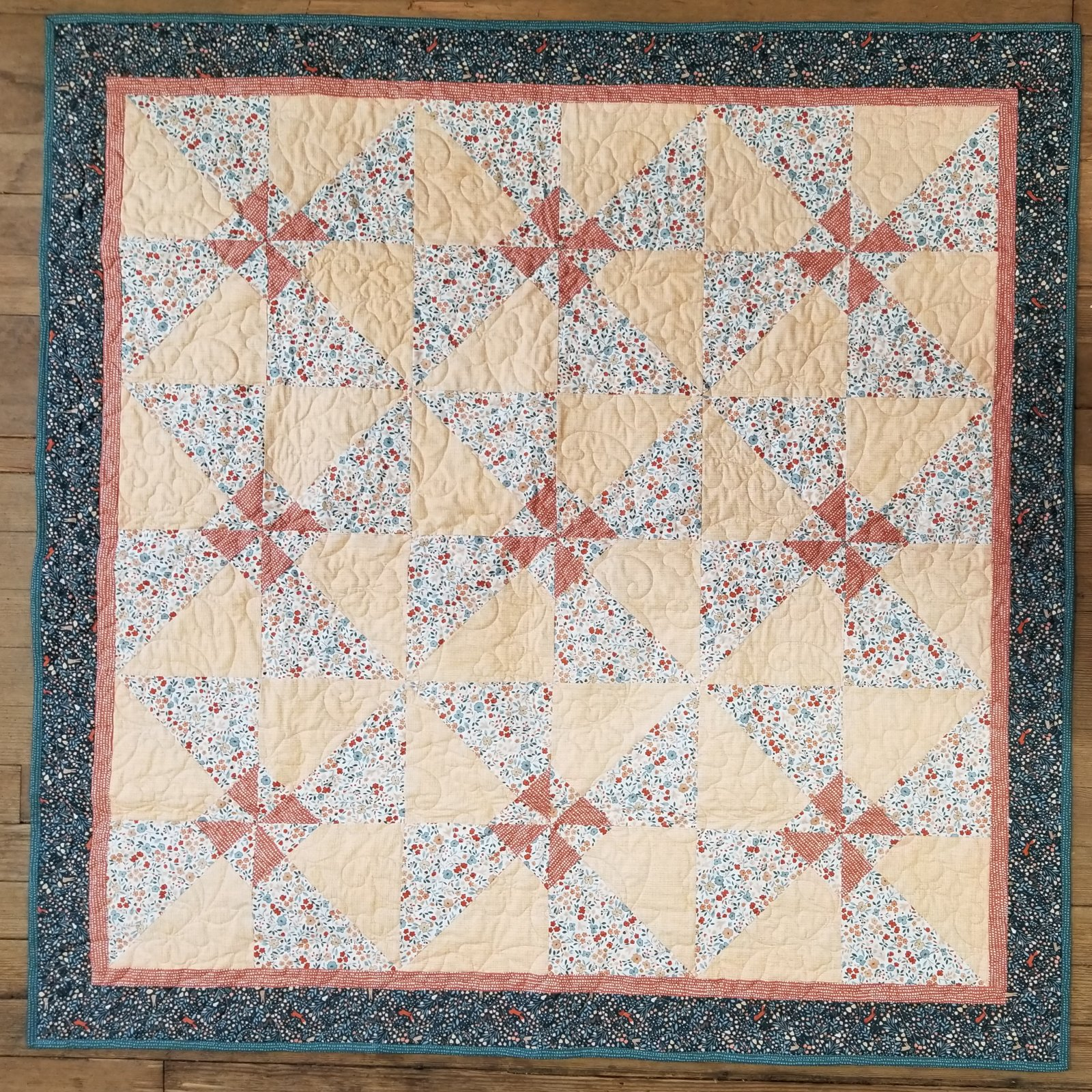 Free as a Breeze Country Mouse Quilt Kit