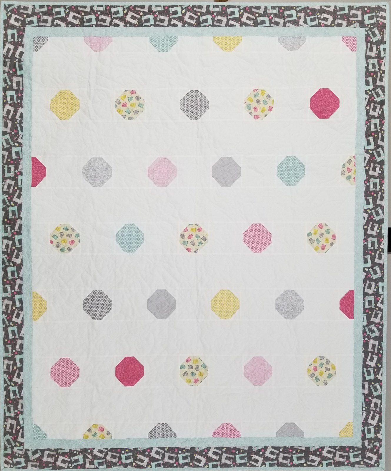 Quilty Just a Little Dotty Fabric Kit