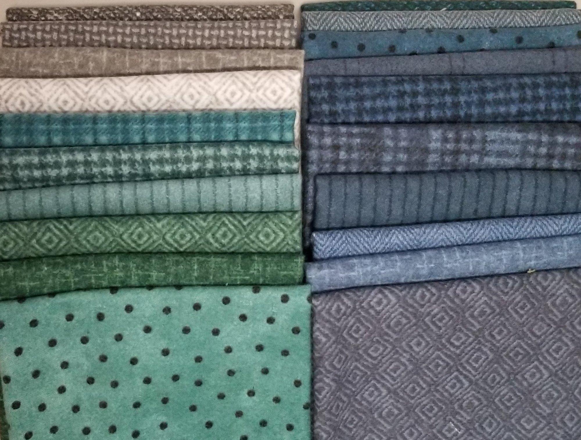 Stormy Seas Woolies Starburst Fabric Bundle