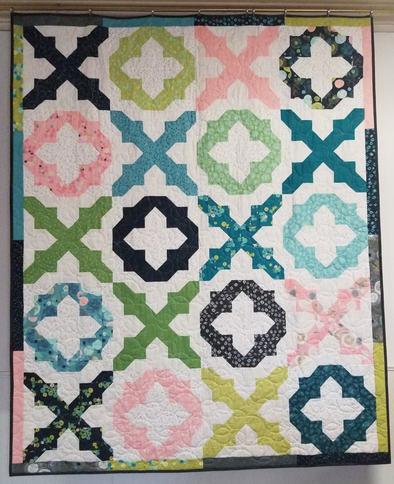 Dance in Paris Here, There Love Everywhere Quilt Kit