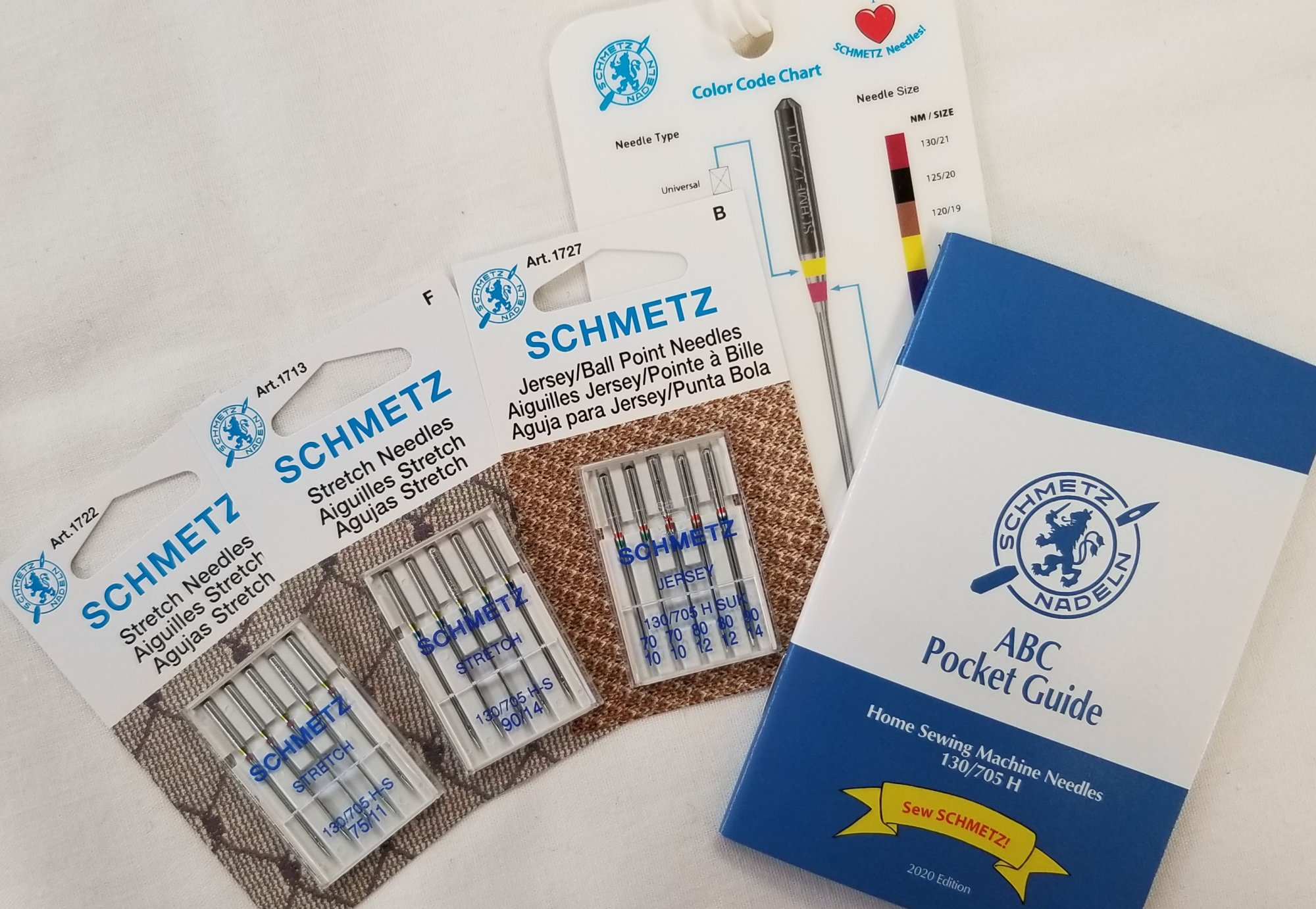 Schmetz Needles: Sewing with Knits Bundle