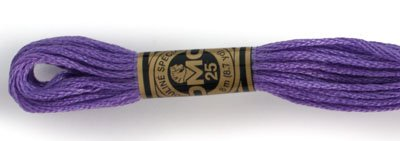 DMC Six Strand Floss Dark Lavender 209