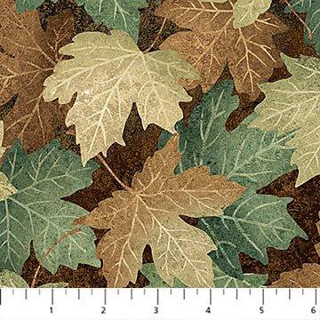 Maplewood leaf print