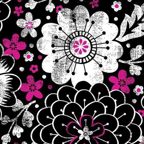 En Vogue Contempo Floral Black