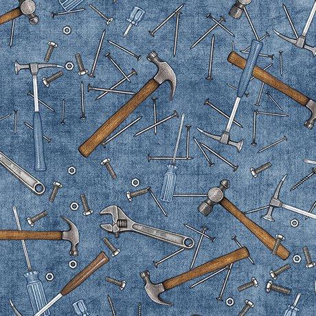 Craftsman Hammers and Nails Denim