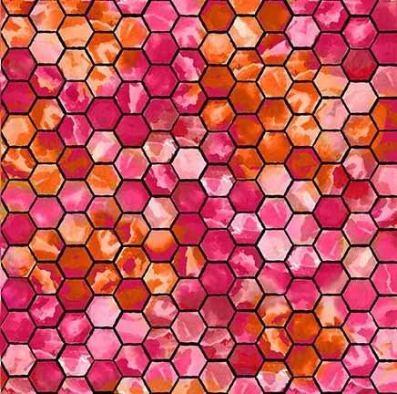 Ellery Honeycomb Fuchsia