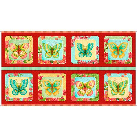 All a Flutter Butterfly Panel