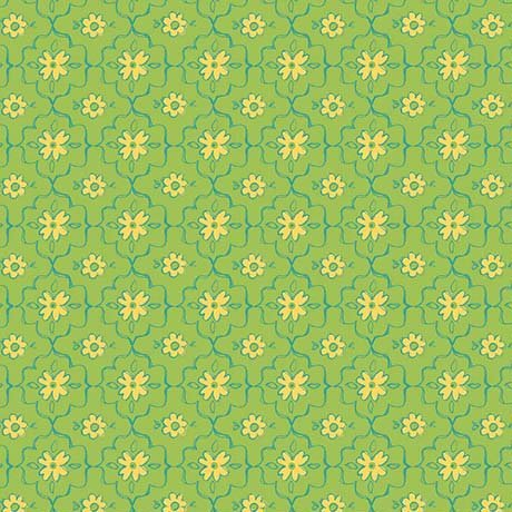 All a Flutter Green Grid