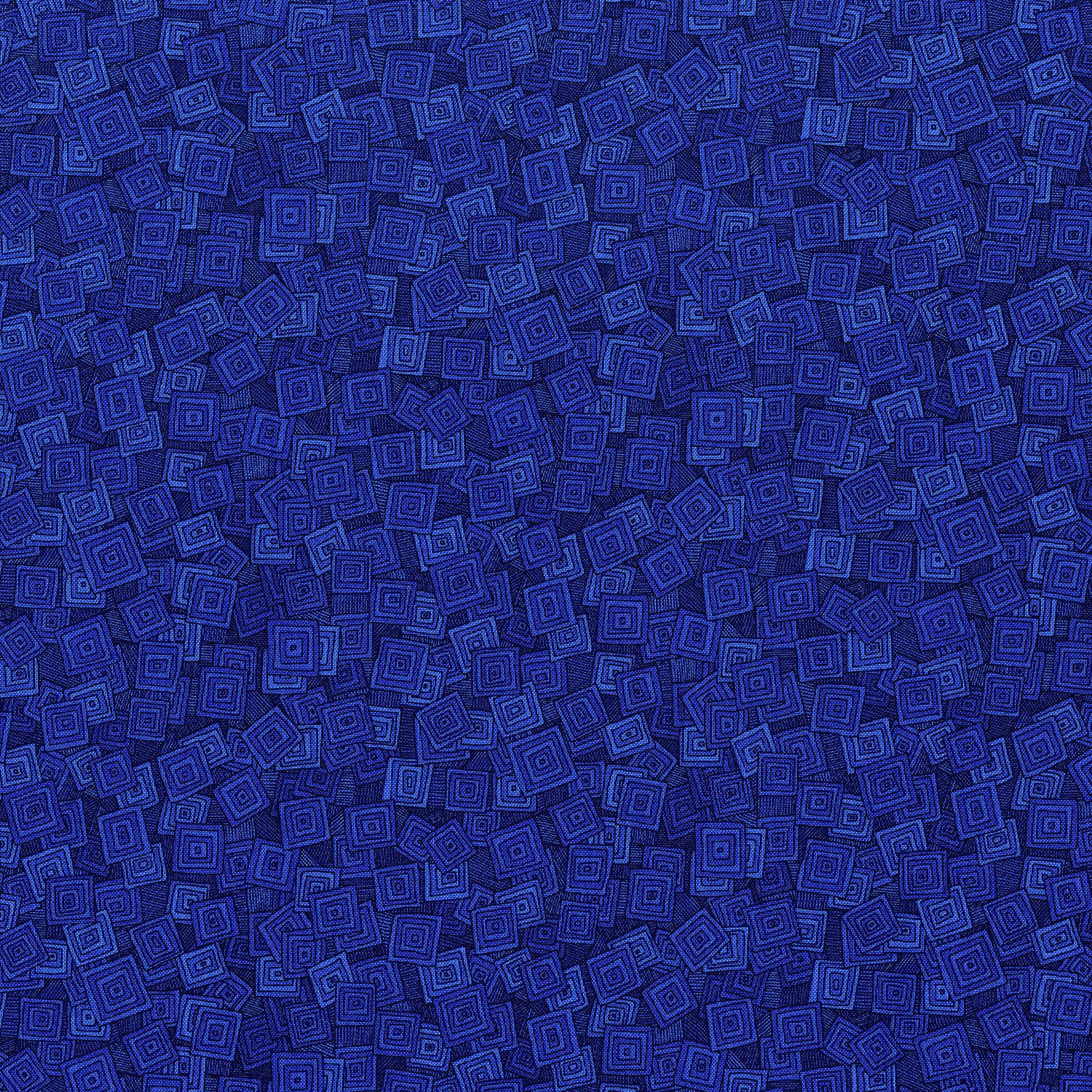 Hopscotch OVERLAPPING SQUARES-BLUEBERRY