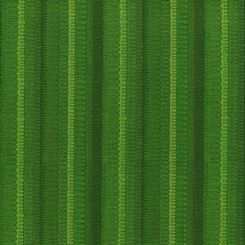 Hopscotch Loop De Loop Grass Fabric