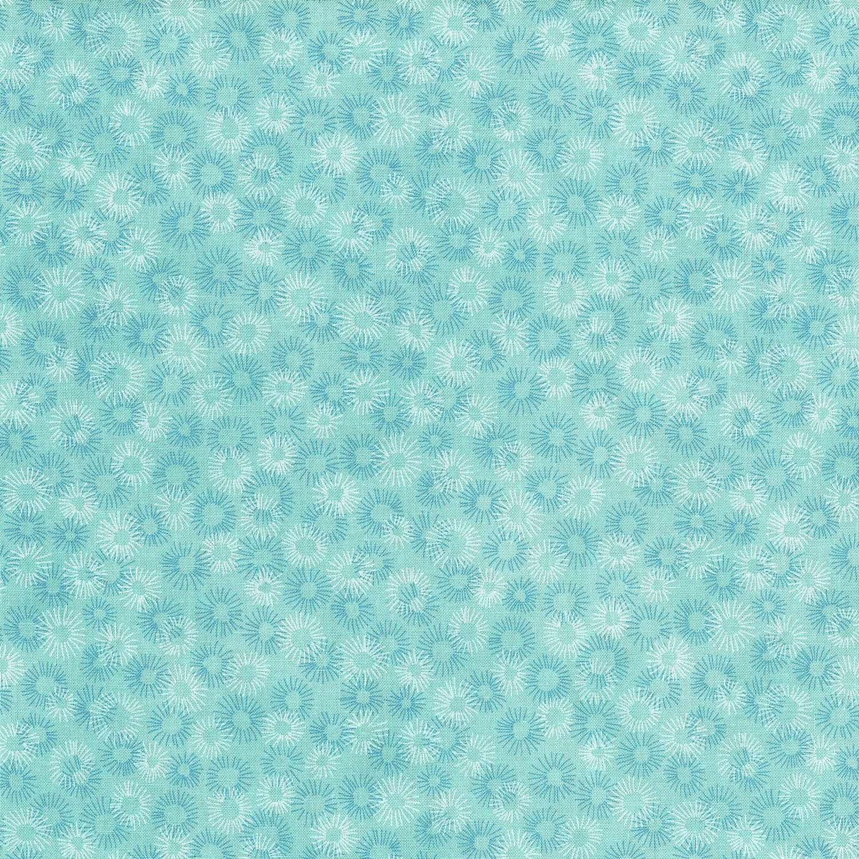 Hopscotch Deconstructed Dandelions Splash Fabric
