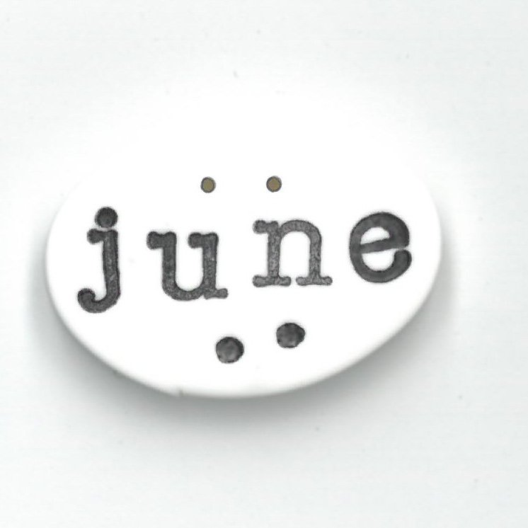 Monthly Button Tag- June