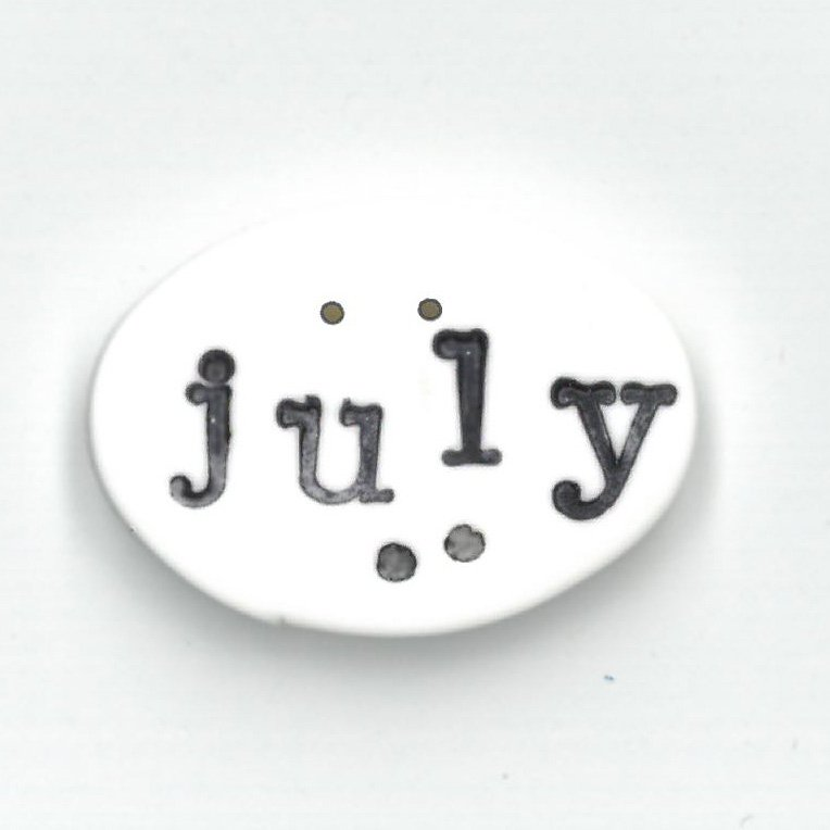 Monthly Button Tag- July