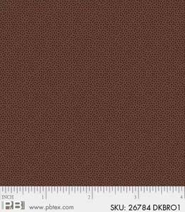 P&B Textiles Crystals Dark Brown