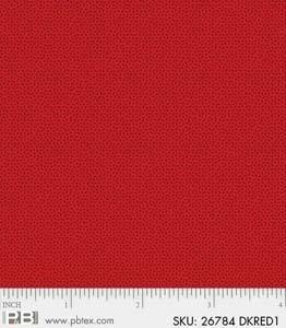 P&B Textiles Crystals Dark Red