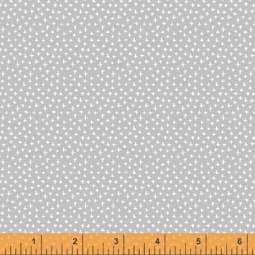 Simply White 51689-3 Mini Cross Gray