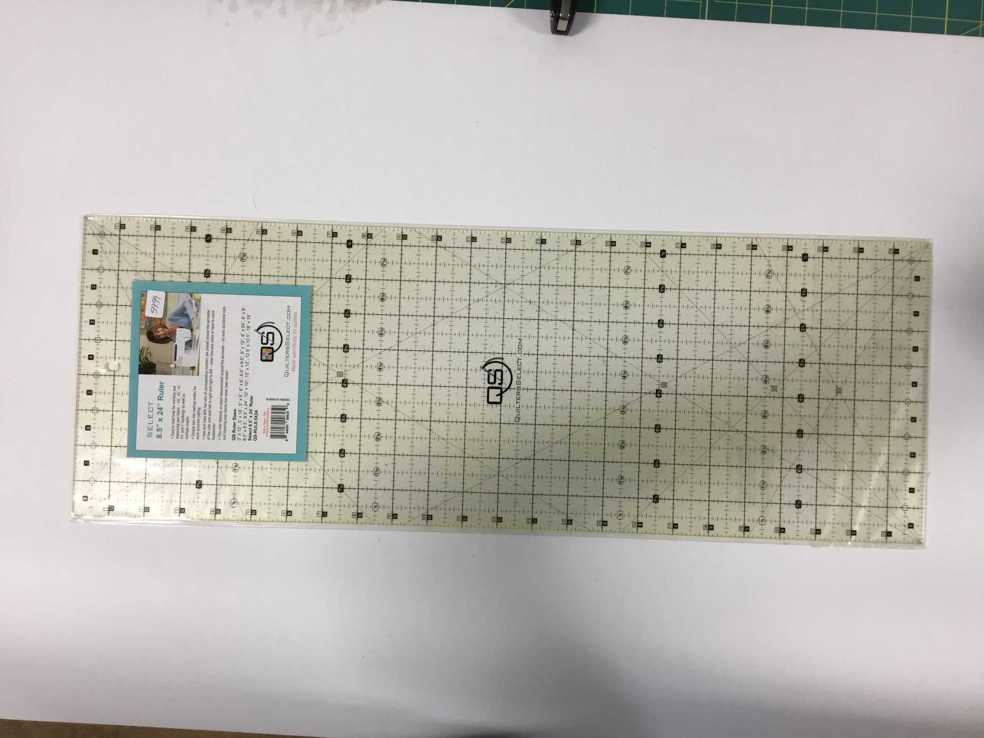 Quilter's Select 8.5 x 24 ruler